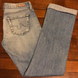 AG Adriano Goldschmied Tomboy Jeans